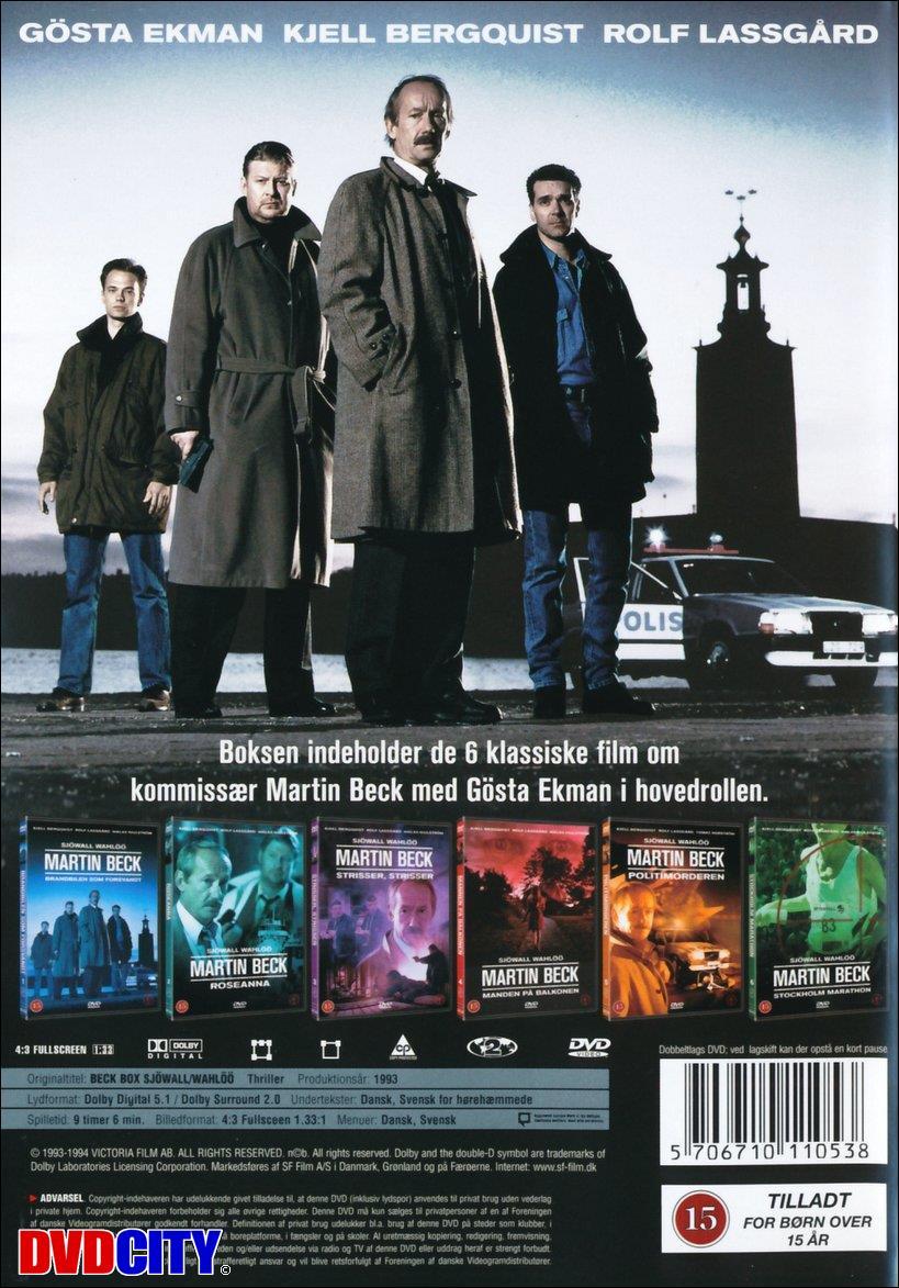 Martin Beck (1993) - dvdcity.dk